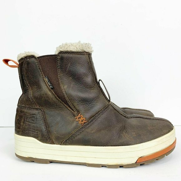 Keen Dry Brown Leather Snowmass Mid Boots
